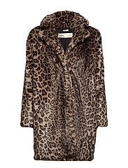 Sallie Coat OW - LEOPARD NON