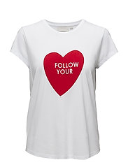 Ani AO_18 T-shirt KNTG - FOLLOW WHITE