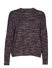 Funa Pullover - COLOURED SPACEDYED