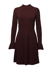 Florentina Dress - CABERNET