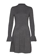Florentina Dress - DARK GREY MELANGE