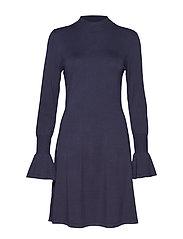Florentina Dress - MARINE BLUE