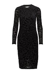 Fanny Dress KNTG - BLACK