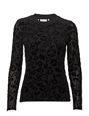 Fanny Blouse KNTG - BLACK