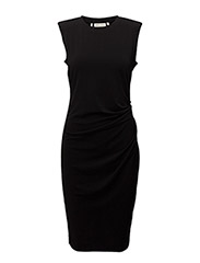 Florette s/l Dress KNTG - BLACK