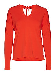 Fillucca Blouse - FIERY RED