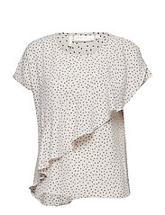 Valeria Top - DOT FRENCH NOUGAT