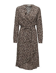 Octavia Dress - LEOPARD SO