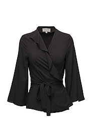 Octavia Blouse - BLACK