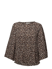 Oliana Blouse - LEOPARD SO