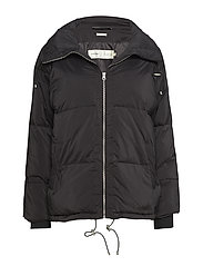 Sade Down Short Coat OW - BLACK