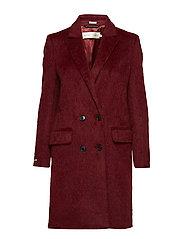 Sina DB Coat OW - CABERNET
