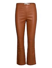 Cedar Pant - LEATHER BROWN