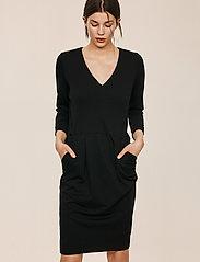 InWear - Nira Dress - midi-kleider - black - 3