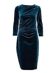 Nisas Dress - DEEP TEAL