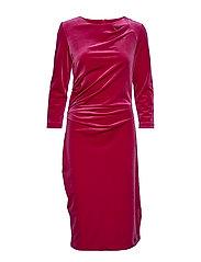 Nisas Dress - PINK PETUNIA