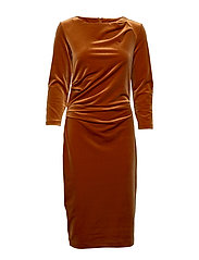 Nisas Dress - RUST