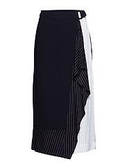 Hope Skirt - BLACK AND WHITE
