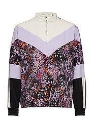 Hestia Shirt - PURPLE FLOWERS