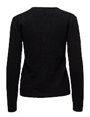 Tia V-neck Pullover KNIT - BLACK