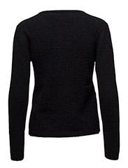 Tia Pullover KNIT - BLACK