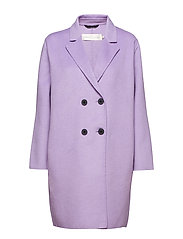 Ushan Coat - PURPLE ROSE