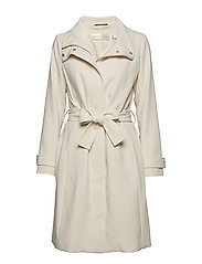 Udele Zip Coat - FRENCH NOUGAT