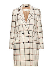 Urbi Coat - LARGE CHECK