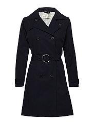 Undine Coat - MARINE BLUE