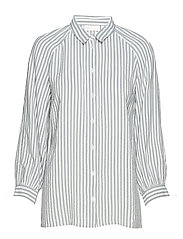 Alma Striped Shirt - MARINE BLUE