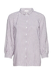Alma Striped Shirt - SPARKLING GRAPE