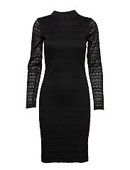 Viona Dress - BLACK