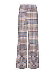 IW50 03 Adalia Wide Pants - GRAPHIC CHECK ROSE