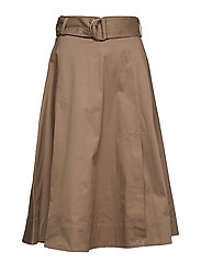 Adair Skirt - DESERT TAUPE