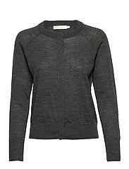 Nora Cardigan - DARK GREY MELANGE