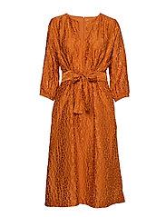 Hudson Dress - GOLD FLAME
