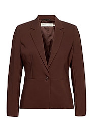 Zella Blazer - COFFEE BROWN