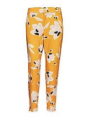 Nica No Rib Printed Pant - SUNNY YELLOW LILLY MEDIUM