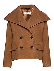 ZelieIW Short Coat - CARAMEL