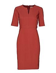 Zella Dress - RUSSET BROWN