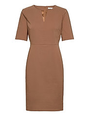 Zella Dress - WINTER BEIGE