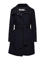 ZeolaIW Zip Coat Solid - MARINE BLUE