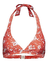 Korona Bikini Top - BLOOD ORANGE DRISSLE FLOWER