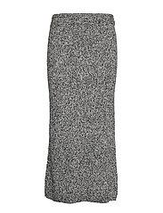 IsaneIW Skirt - BLACK AND WHITE
