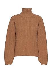 IW50 33 PortmanIW Pullover - WARM CAMEL