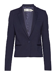 RoseauIW Short Blazer - MARINE BLUE