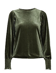 OrielIW Blouse - OLIVE LEAF