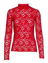 OctaIW Blouse - REAL RED