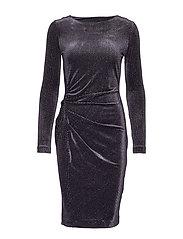 OnoIW Drape Dress - BLACK