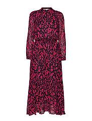 ClariceIW Dress - PINK PETUNIA IRREGULAR ANIMAL